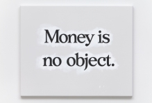 """money is no object"" by ricci albenda"
