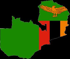 zambia_flag_map